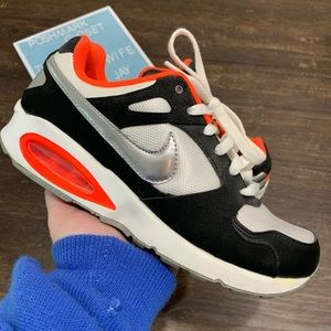 Nike Air Max Coliseum Racer Neon & Silver Size 8.5